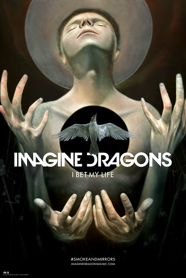 I Bet My Life Exclusive Lithograph   Imagine Dragons
