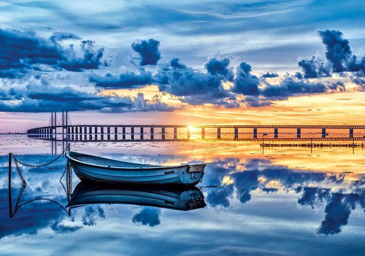 Clementoni Puzzle 1500 Teile Öresund (31677) Boot Wolken  Meer Brücke in Spielzeug, Puzzles & Geduldspiele, Puzzles   eBay http://nextpuzzle.de