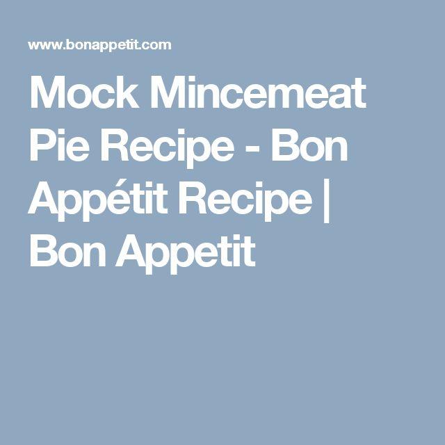 ... Mincemeat Pie on Pinterest | Mincemeat Recipe, Steak And Kidney Pie