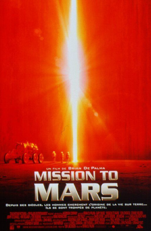 brian de palma movie poster | Mission to Mars - Brian De Palma - SensCritique