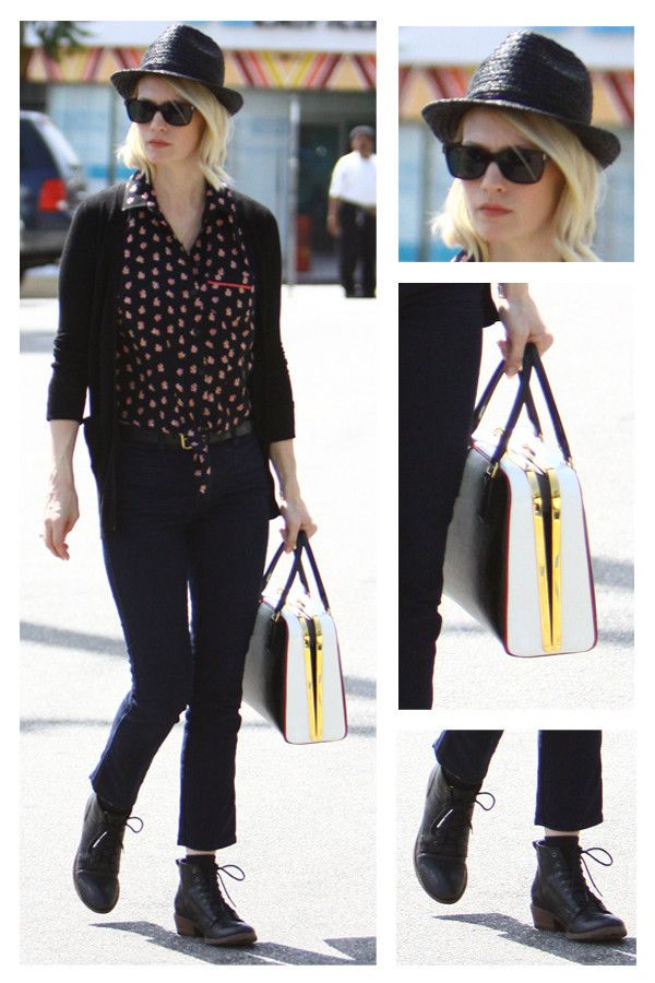 January Jones just looking fab without trying... as usual!: Style, January Jones, Prada Bag, Aghhh January