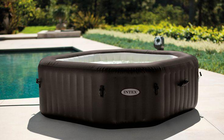 les 25 meilleures id es concernant spa gonflable sur pinterest jacuzzi gonflable 2 places spa. Black Bedroom Furniture Sets. Home Design Ideas
