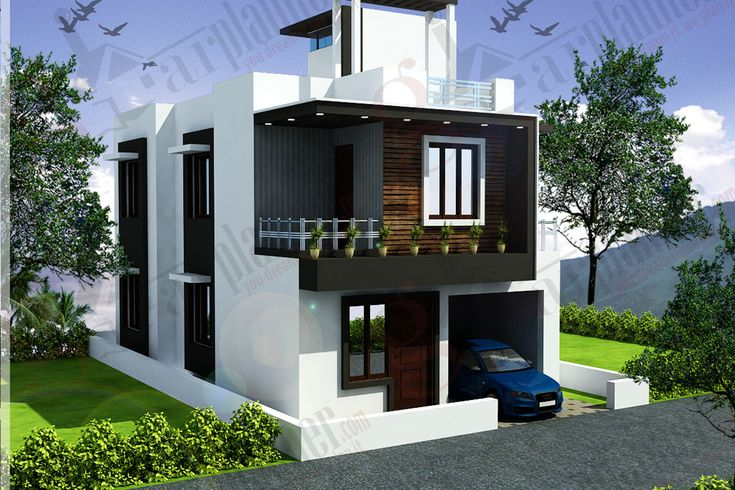 House plan modern house elevation pinterest house for Modern house designs in punjab