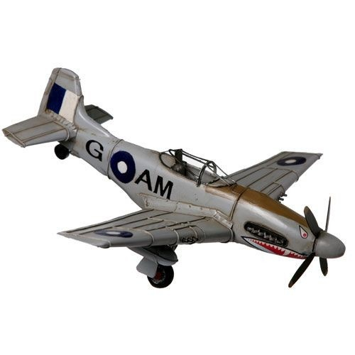 Mustang Plane with Shark Teeth $99.9 (AUD) | FREE Delivery