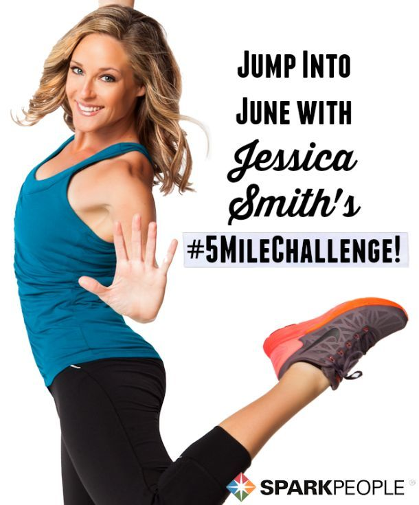 Kick off your summer with Jessica Smith's 5 mile challenge! You'll love taking the challenge today!