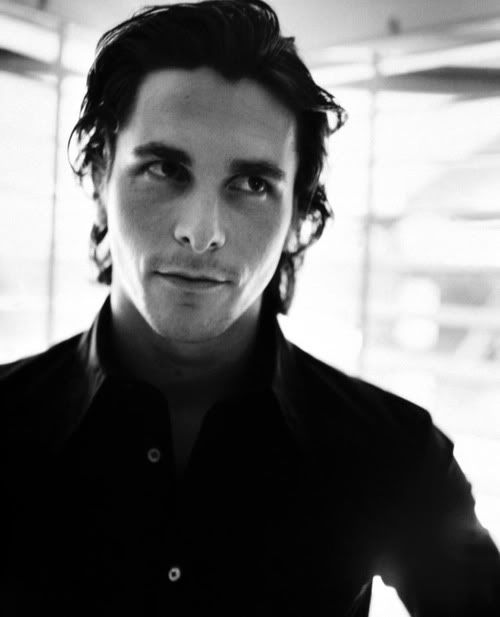 The good man of Gotham with a dark side as the American Psycho: Christian Bale (via Habitually Chic)