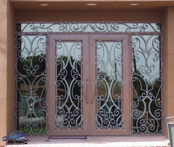 66 best images about wrought iron grand entryways on pinterest ...