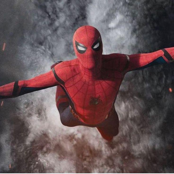 "(@spidey.marvel) på Instagram: ""Really really love this shot. - - - - - - [ #spiderman #spidermanhomecoming #marvel #tomholland…"""