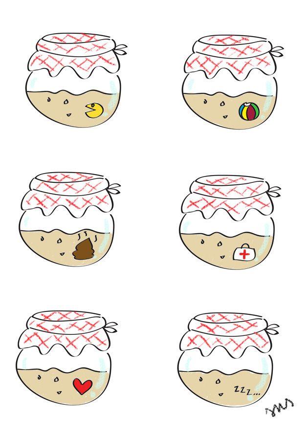 Sourdough Tamagotchi