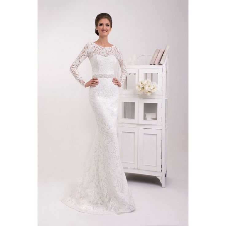 Nessa - dlhé čipkové svadobné šaty