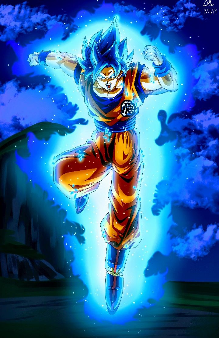 Goku Super Saiyan Blue Dragon Ball Super Anime Dragon Ball Super Dragon Ball Super Manga Dragon Ball Painting