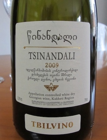 Tsinadali 2009 from Georgia