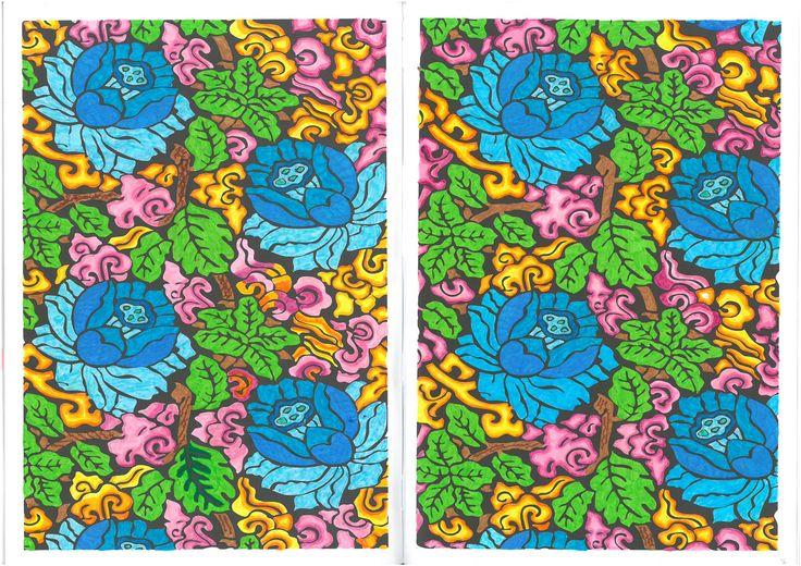 Desenho 36, colorir, pintar, arte terapia