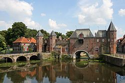 Amersfoort is more than 750 years old. This is the 'Koppelpoort', a watergate, entry to the old city. Read more about Amersfoort 'Where Minds Meet'.  Questions?  gerard@gerardvanvliet.net