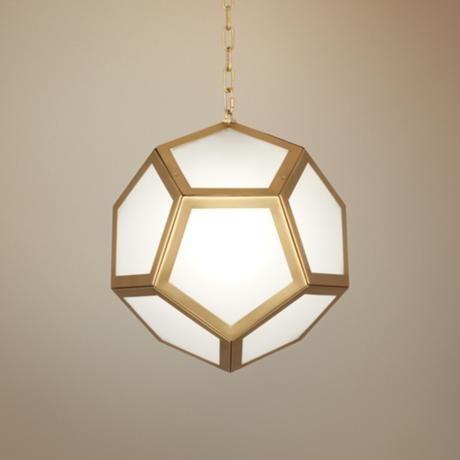Antique Brass Pendant Lighting