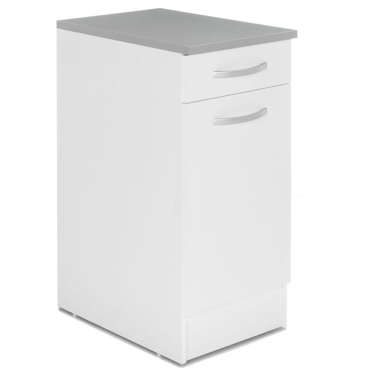 amazing meuble bas de cuisine porte tiroir cm blanc eko cuisine les with meuble bas cuisine 40. Black Bedroom Furniture Sets. Home Design Ideas
