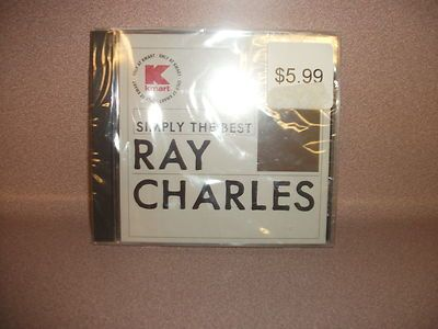 RAY CHARLES MUSIC CD- - SIMPLY THE BEST. 6 SONGS. NEW IN PACKAGE.
