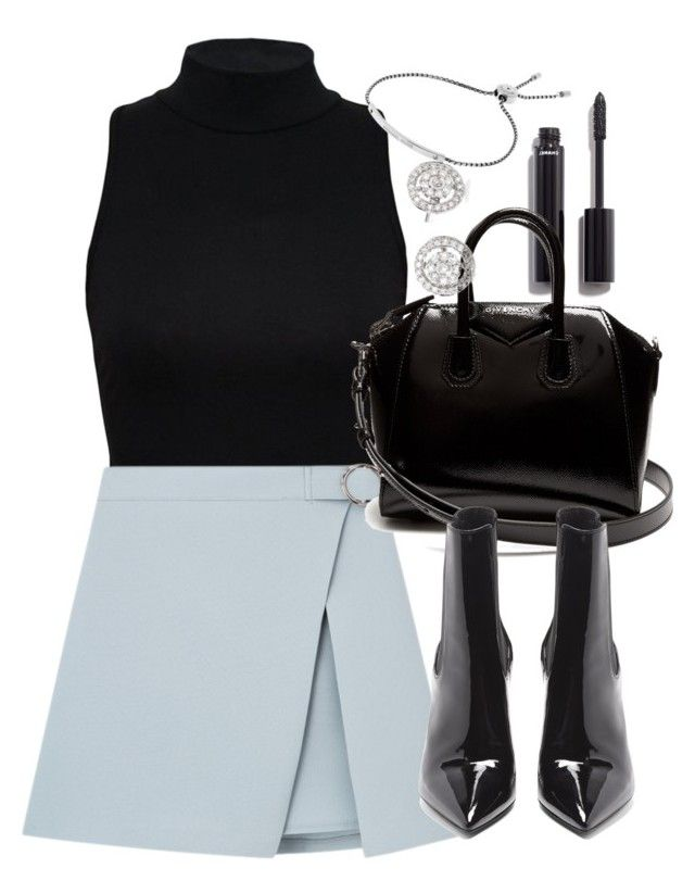 """""""Untitled #4847"""" by olivia-mr ❤ liked on Polyvore featuring Chanel, Givenchy, Yves Saint Laurent, Michael Kors and Hueb"""