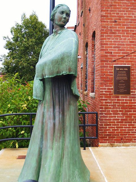 The Mill Girl, Manchester NH.