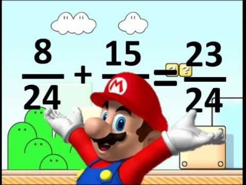 MARIO FRACTIONS SONG by Heath...short...no words...very effective!