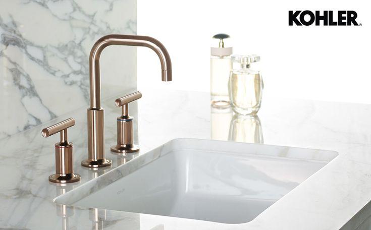 7 Faucet Finishes For Fabulous Bathrooms: KOHLER Rose Gold Faucet