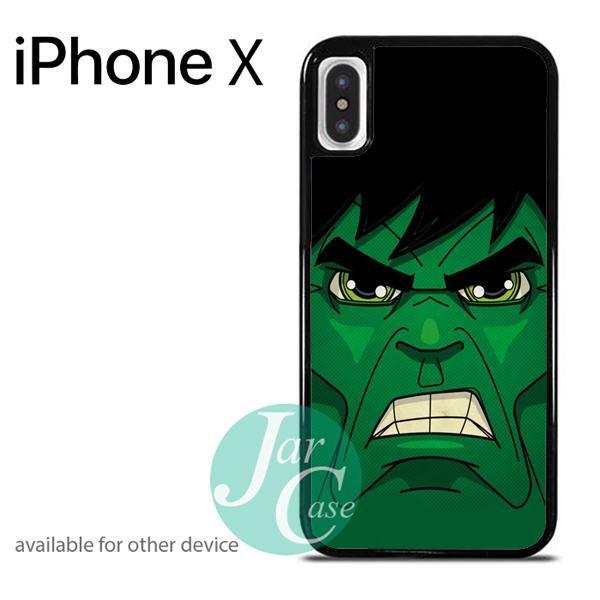 Hulk Cute Cartoon Phone case for iPhone X
