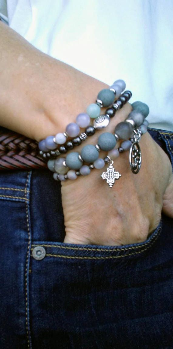RESOLUTIONS: Stone Energy Stack Bracelets for the New Year