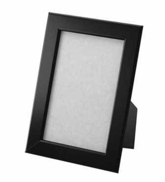 Ikea Fiskbo Picture Frames 4 Set Black 13x18 Cm With Images Ikea Photo Frames Wood Picture Frames Ikea Lamp Shade