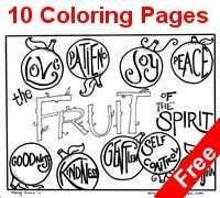 Free Fruit of the Spirit Printables for Kids