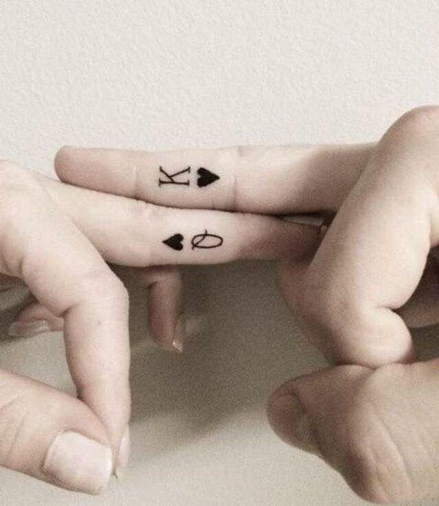 Future husband and wife tattoos