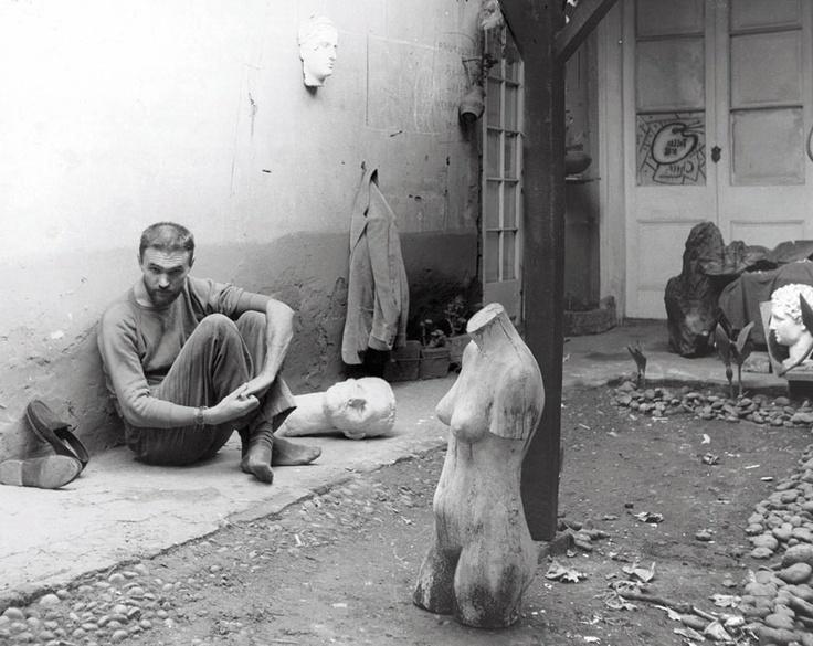 Yo en calle Mosqueto, Autorretrato, Bob Borowicz, 1960