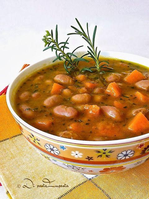 Di pasta impasta: Zuppa di zucca e fagioli