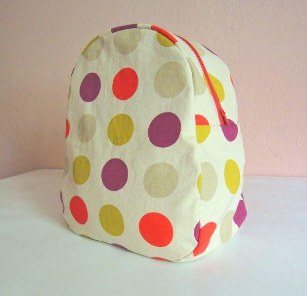 Mochila às bolinhas   Dotty backpack