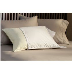 @Overstock - SleepSafe 230 Thread Count Pillow Protectors (Case of 12) - Care for your bedroom pillows with these soft cotton pillow protectors, ideal for complementing both traditional and modern decors. Made from 230-thread-count cotton, these machine-washable covers will cradle your head in comfort all night long.  http://www.overstock.com/Bedding-Bath/SleepSafe-230-Thread-Count-Pillow-Protectors-Case-of-12/2039825/product.html?CID=214117 $44.99