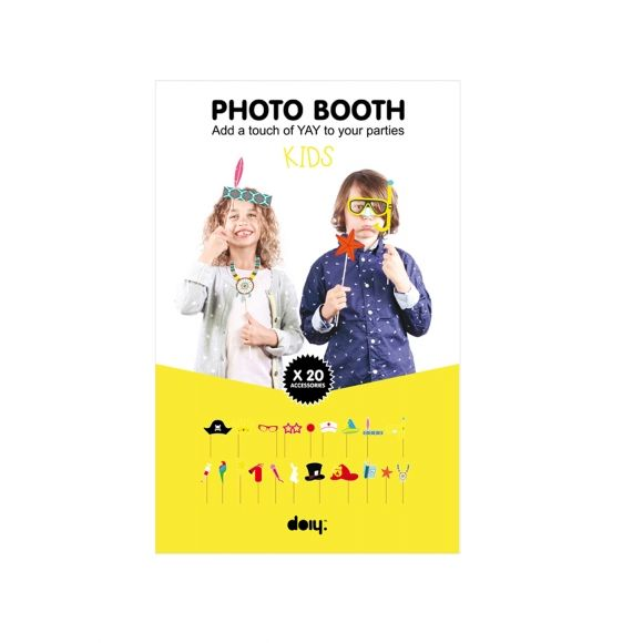 SCHOOL HOLIDAYS: DOIY kids' photo booth props. Shop now at www.hardtofind.com.au