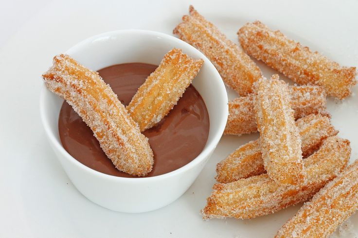 Churros Con Chocolate Food Network