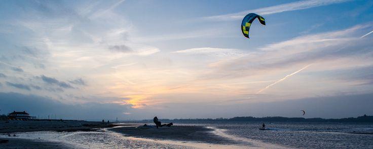 Kite in the sunset by Jens Krüßmann on 500px