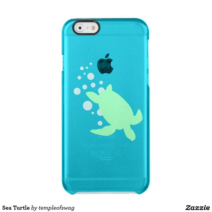 Sea Turtle Uncommon Clearly™ Deflector iPhone 6 Case