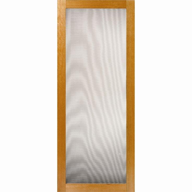 Corinthian 2060 x 820 x 19mm 1 Lite Timber Screen Fresco Door