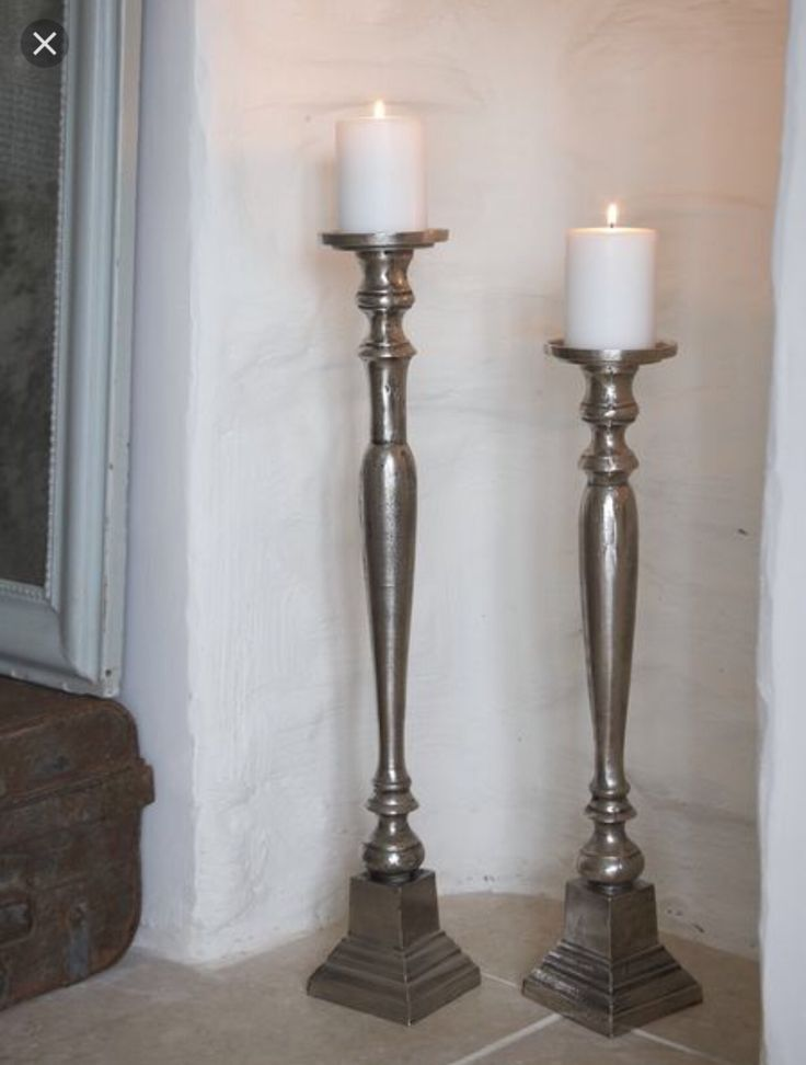 8 best Tall Floor Pillar Candle Holders/Stands images on ...