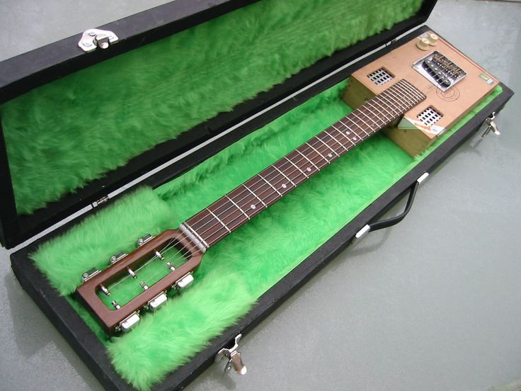 cigar box guitar cases - Cigar Box Nation