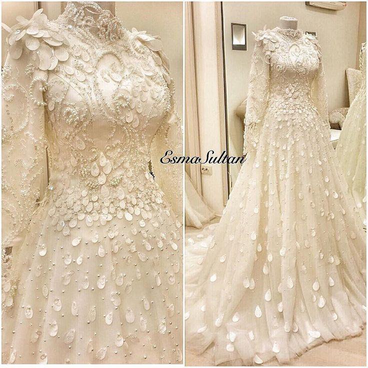 Waaaooow!!!! @esmasultan_modaevi_ Aşkla dikersin karşısına geçip sadece izlersin  Payet işleme modelimiz bu sene en sevilenlerden   #hijab#wedding#gelin#gelinlik#weddingdress#hautecouture#tasarım#kişiyeözel#özeltasarım#engamament#nişan#nişanelbisesi#henna#hennanight#kına#kınagecesi#abiye#fashion#style#tagsforlikes#likeforlikes#igers#bestofday#photoofday#bridal#bride#style#weddingstyle#weddingideas#instabride #Alamango #Bridal #Textiles #Wedding #AlamangoBridal #AlamangoTextiles #Malta…