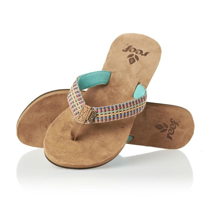 Reef Gypsylove Flip Flops - Aqua | Free UK Delivery on All Orders