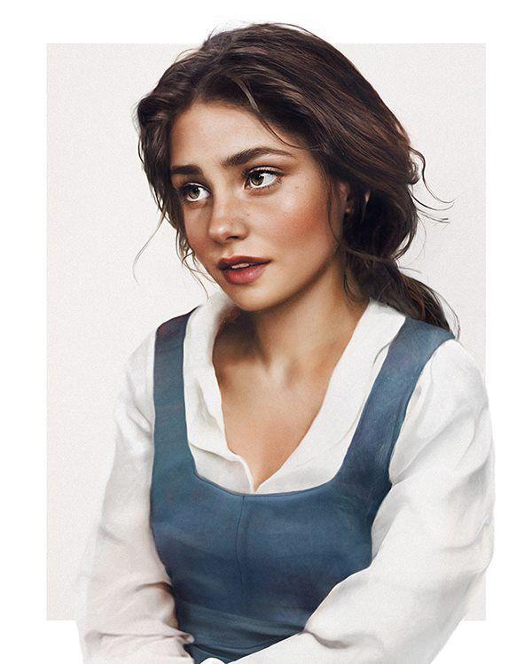 Before Emma Watson became Belle