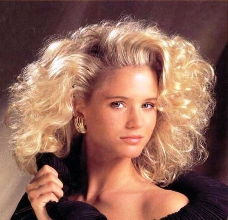 Oh yeah, I remember the bigger is better hairstyles that used to stay immobile with a healthy dose of Joico Ice Mist.