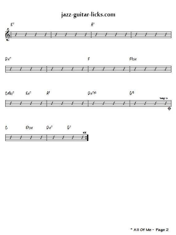Backing Tracks - Ralph Patt's Jazz Web Page