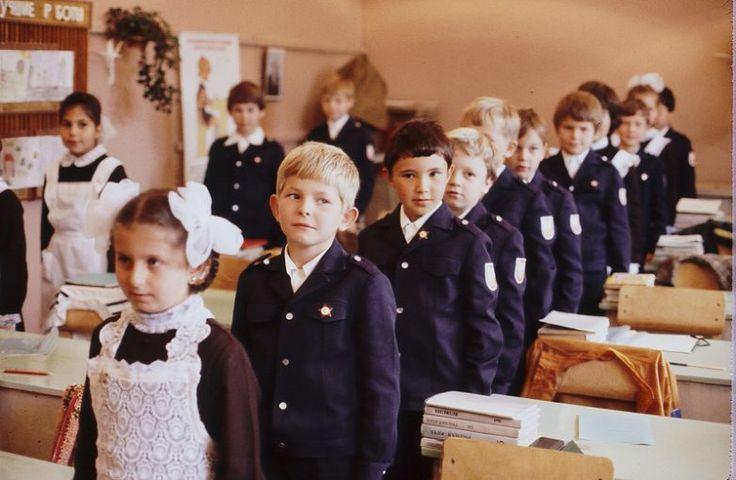 Несколько моментов из советской школы