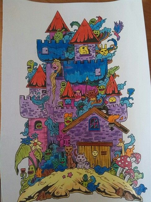 Doodle invasion:-) my own...