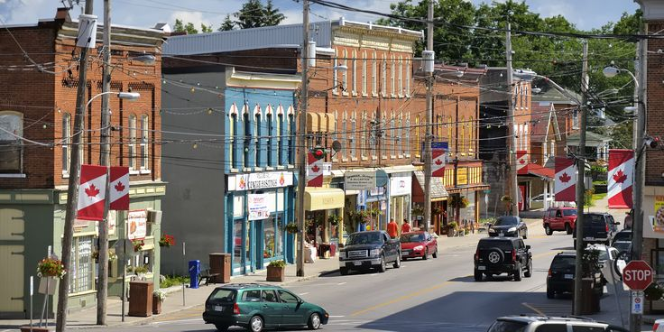 Madoc Ontario - small town founded 1878 - heart of rural economy based on talc, gold, fluorite mining and tourism | Flick
