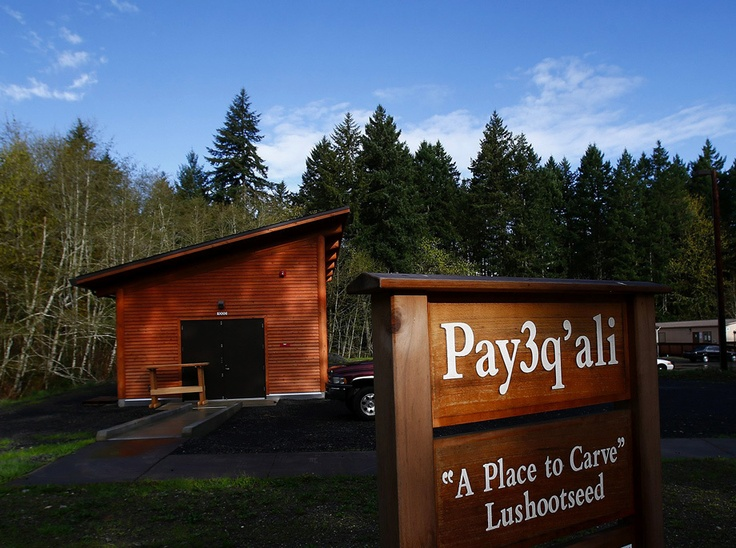 The new carving shed was made possible through a grant from the Ford Foundation.